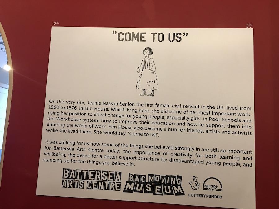 Battersea Arts Centre Visit
